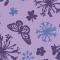法式愛情花紫