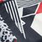 紅白黑豹紋幾何