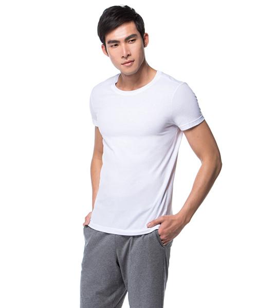 FREEWEAR                       輕柔純棉男圓領短袖衫