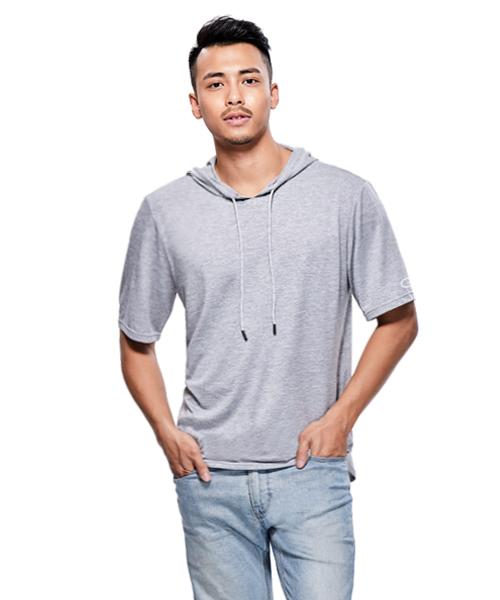 極速快乾男防臭連帽短袖T-機動棉-3GUN |男性時尚內衣褲MIT品牌