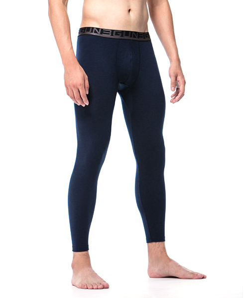 男外露帶發熱長褲-熾柔-3GUN |男性時尚內衣褲MIT品牌