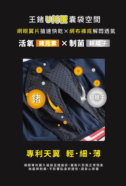 制菌網眼男永效吸排長內褲-天翼.王鍺-3GUN |男性時尚內衣褲MIT品牌