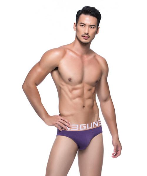 3GunSitename-SUPIMA-超彈柔順男極棉三角褲