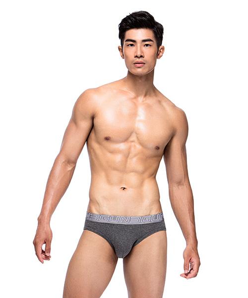 透氣網眼男彈力棉三角褲-天翼‧能鍺AIR-3GUN |男性時尚內衣褲MIT品牌
