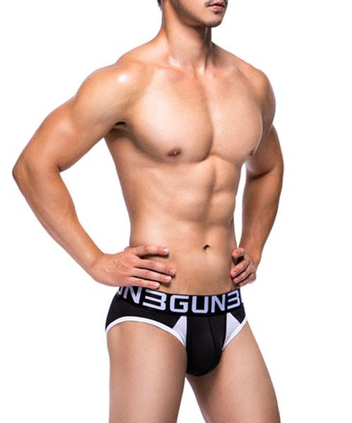 拼色剪接男真快乾三角褲-炫色動感-3GUN |男性時尚內衣褲MIT品牌