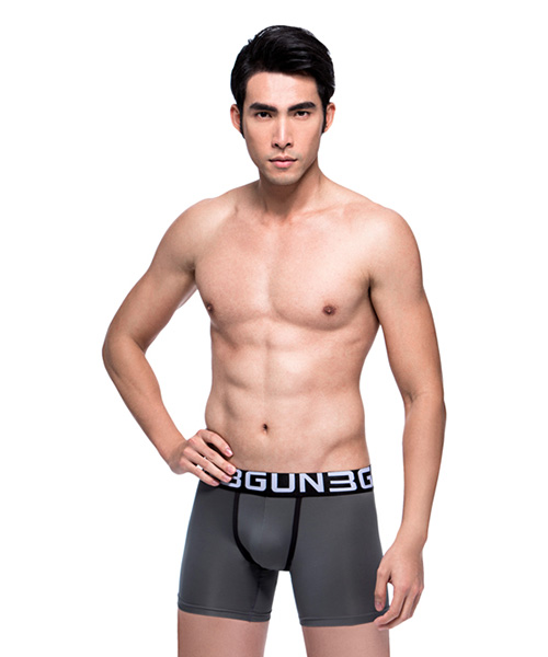 吸排                             極彈涼爽男真快乾長平口褲