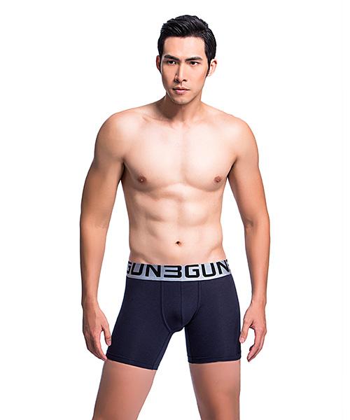 親膚                             超柔輕爽男莫代爾長平口褲