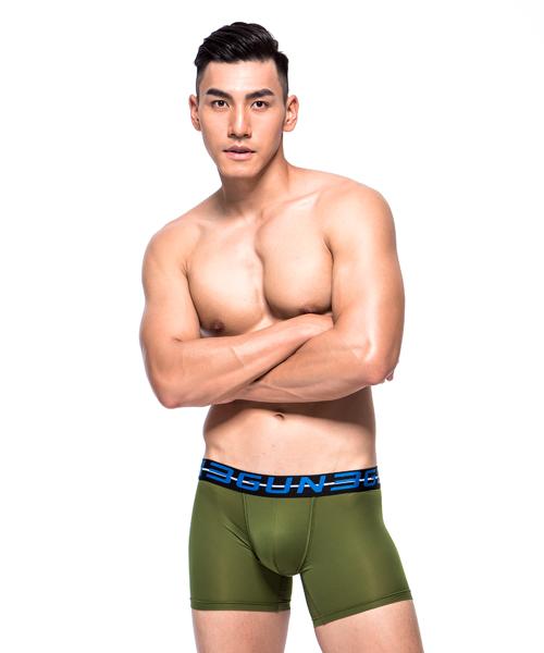 男真快乾長平口褲-吸排-3GUN |男性時尚內衣褲MIT品牌