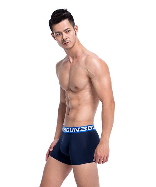 3GunSitename-吸排-極彈涼爽男真快乾平口褲