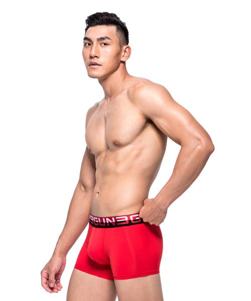 極彈涼爽男真快乾平口褲-吸排-3GUN |男性時尚內衣褲MIT品牌