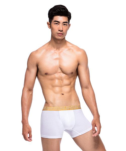 透氣網眼男SUPIMA棉平口褲-天翼‧能鍺AIR-3GUN |男性時尚內衣褲MIT品牌