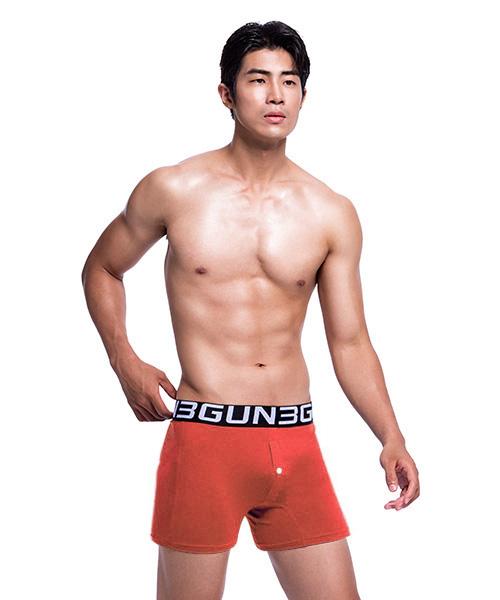 永效吸排男寬鬆四角平口褲-都會布褲-3GUN |男性時尚內衣褲MIT品牌