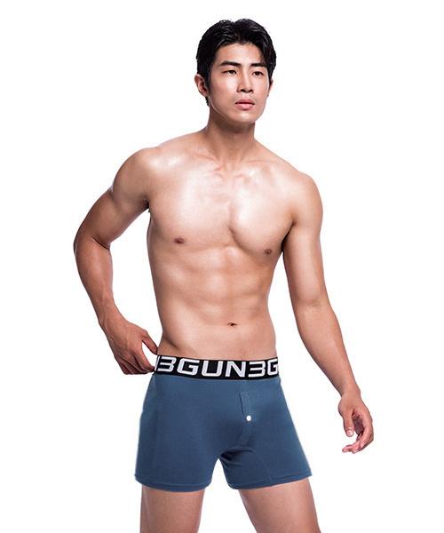 永效吸排男寬鬆四角平口褲-BOXERS-3GUN |男性時尚內衣褲MIT品牌