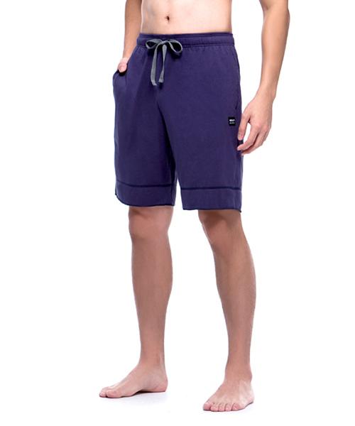 FREEWEAR                       輕柔純棉男抽繩鬆緊帶短褲