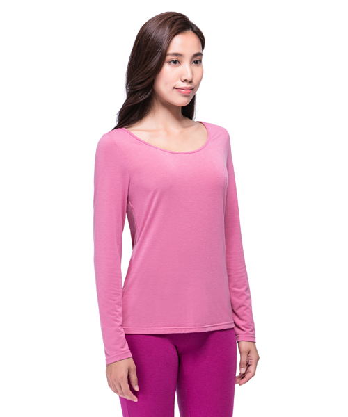 3GunSitename-熾柔EX-真正發熱女保暖圓領長袖衫
