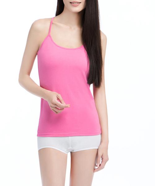 女Y字細肩帶背心-親膚-3GUN |男性時尚內衣褲MIT品牌