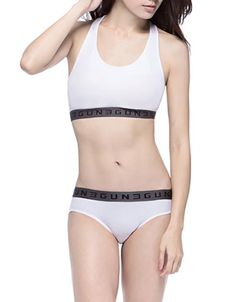 3GUN |男性時尚內衣褲MIT品牌-QUEEN-極棉女織帶三角褲