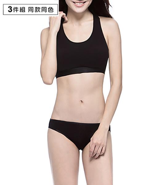 超值3入極棉女低腰三角褲-QUEEN-3GUN |男性時尚內衣褲MIT品牌