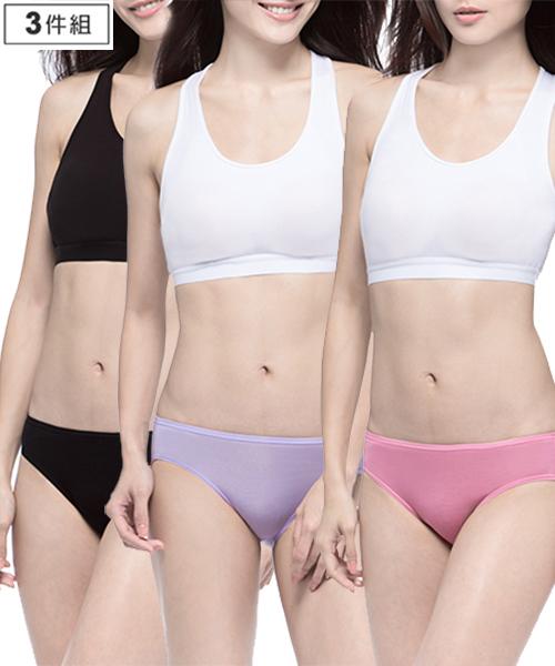 天絲女低腰三角褲-QUEEN-3GUN |男性時尚內衣褲MIT品牌