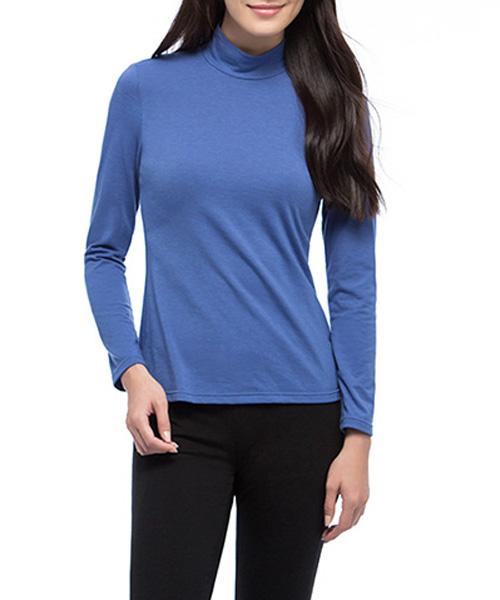 真正發熱女保暖立領長袖衫-熾柔-3GUN |男性時尚內衣褲MIT品牌