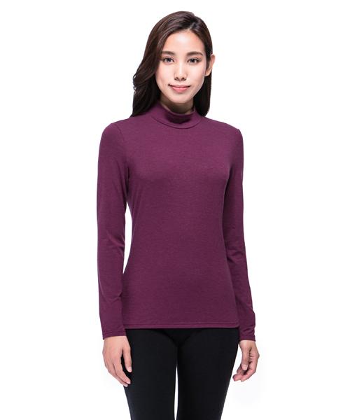 3GunSitename-熾柔EX-真正發熱女保暖立領長袖衫