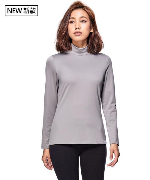 X熱力學女保暖立領長袖衫-熾柔X-3GUN |男性時尚內衣褲MIT品牌