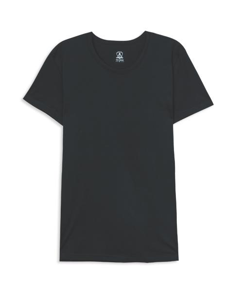 男圓領短袖衫-長絨棉-3GUN |男性時尚內衣褲MIT品牌
