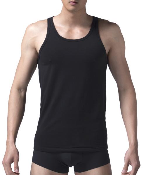 男窄肩背心-長絨棉-3GUN |男性時尚內衣褲MIT品牌
