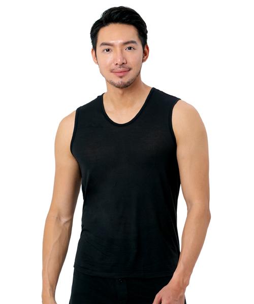 男寬肩背心-御金絲-3GUN |男性時尚內衣褲MIT品牌