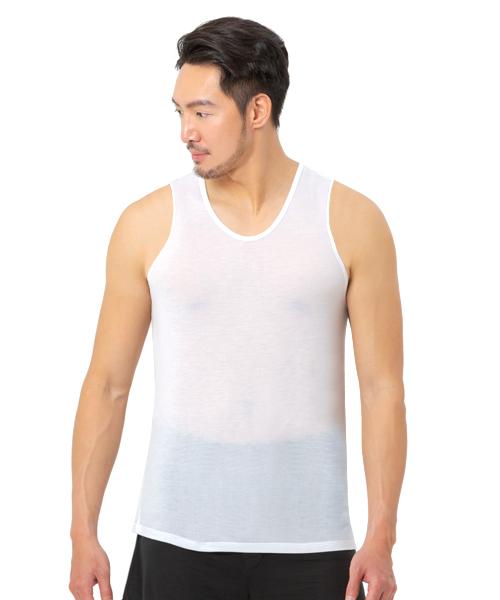 男窄肩背心-御金絲-3GUN |男性時尚內衣褲MIT品牌