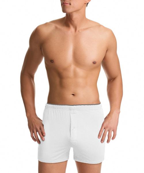 男內露帶平口褲-金絲棉系列-3GUN |男性時尚內衣褲MIT品牌