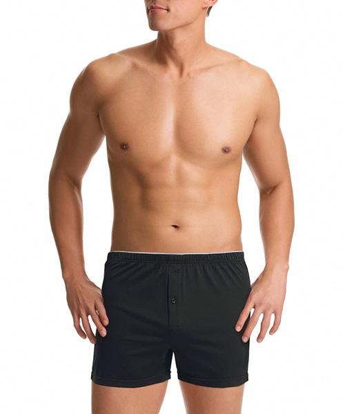 金絲棉系列                          男內露帶平口褲