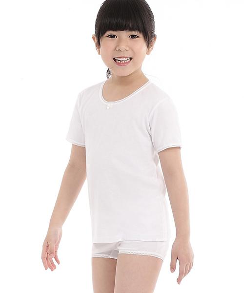 金絲棉系列                          夏女童短袖