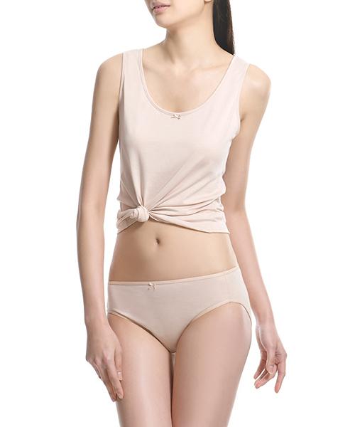 金絲棉系列                          女中腰三角褲