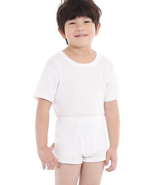 金絲棉系列                          男童平口褲