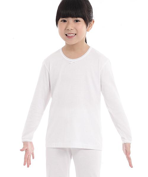 女童長袖衫-金絲棉系列-3GUN |男性時尚內衣褲MIT品牌
