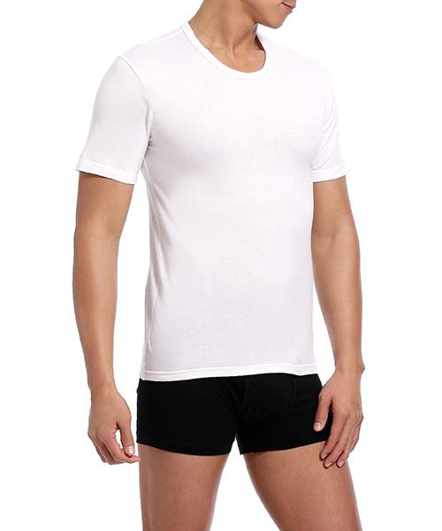 金絲棉系列                          男圓領短袖衫