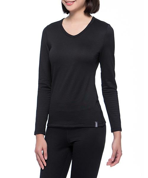 熱循環                            女V領長袖衫