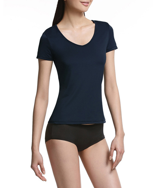 COOLPLUS旅行                     女V領短袖衫