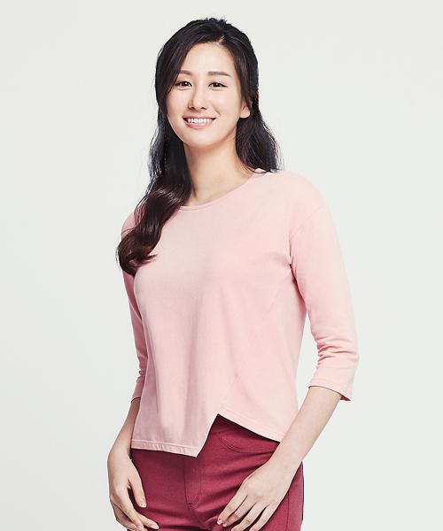 細柔棉感女造型下擺寬版衫-自由空間-圓舞曲-3GUN |男性時尚內衣褲MIT品牌