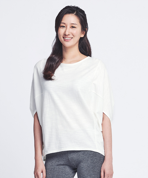 竹節棉女飛鼠袖寬版衫-自由空間-FLOWING-3GUN |男性時尚內衣褲MIT品牌