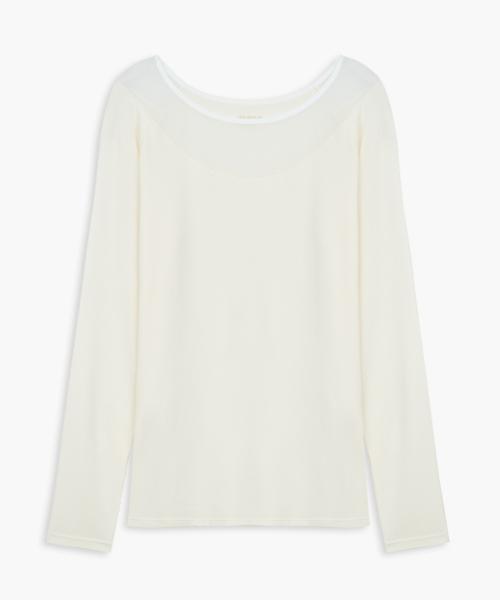 女一字領長袖衫-HEATPLUS-3GUN |男性時尚內衣褲MIT品牌