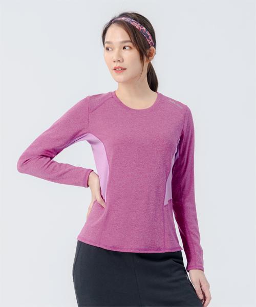 快乾調溫女剪接長袖衫-YA系列-排汗密碼-3GUN |男性時尚內衣褲MIT品牌