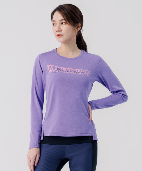 快乾調溫女數碼印花長袖衫-YA系列-享動時尚-3GUN |男性時尚內衣褲MIT品牌