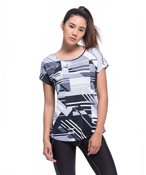 YA系列-享動時尚                      女船領連袖衫