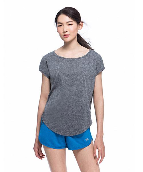 YA系列-享動時尚                      女運動船領罩衫