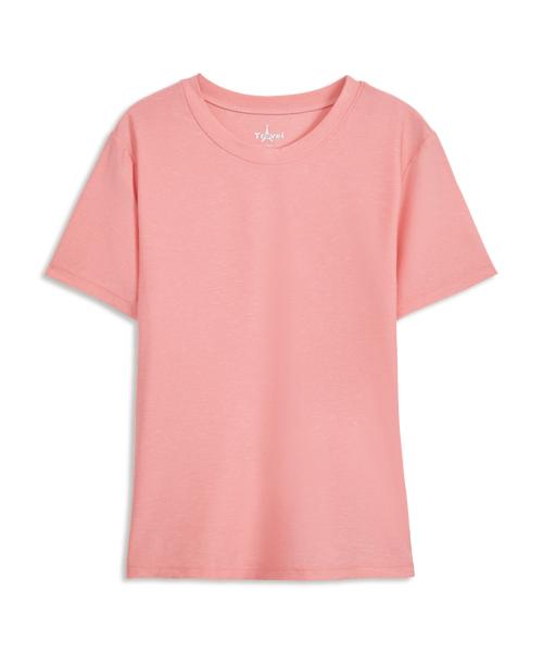 涼爽雲紗女圓領短袖衫-COOLPLUS旅行-3GUN |男性時尚內衣褲MIT品牌