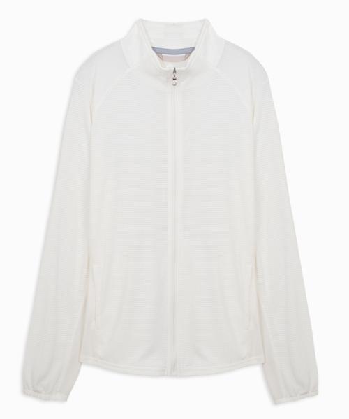 波浪布女透氣立領外套-YA系列-享動時尚-3GUN |男性時尚內衣褲MIT品牌