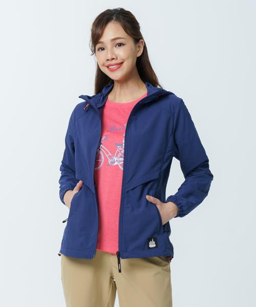 超撥水女防風連帽外套-都會休閒-外套-3GUN |男性時尚內衣褲MIT品牌