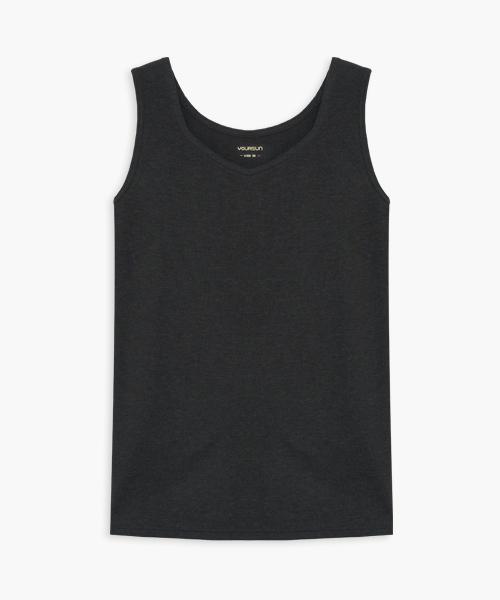 女桃心領背心-HEATPLUS-3GUN |男性時尚內衣褲MIT品牌